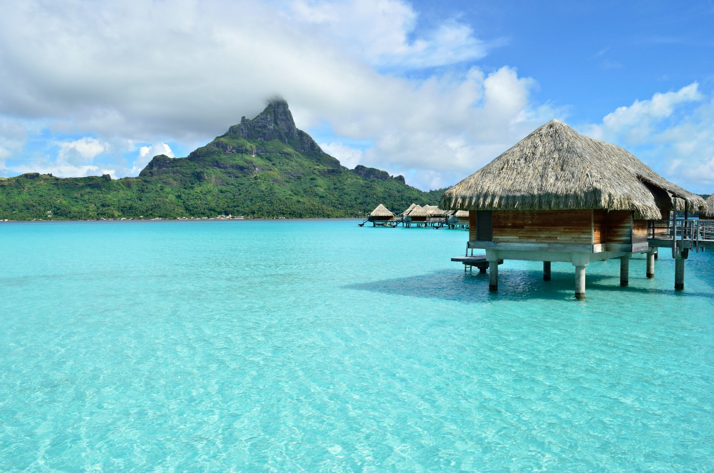 l'île de Bora Bora