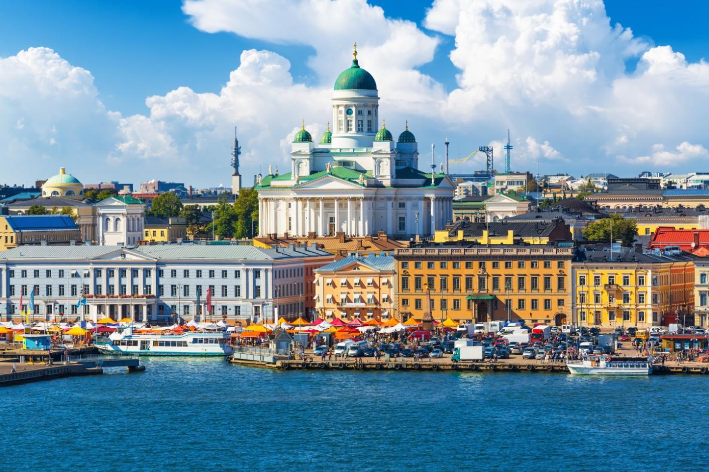 Helsinki capitale de la Finlande