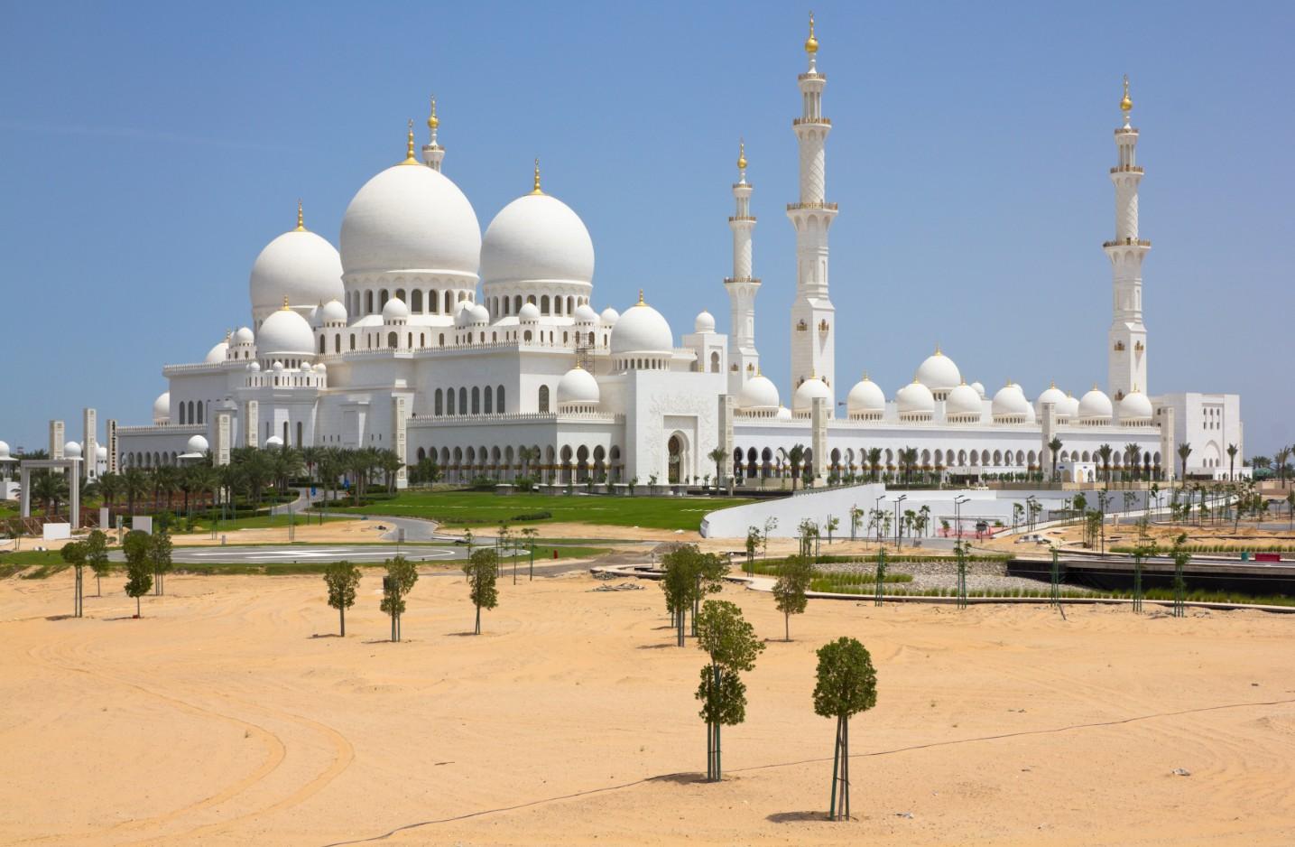La Mosquée d'Abou Dabi