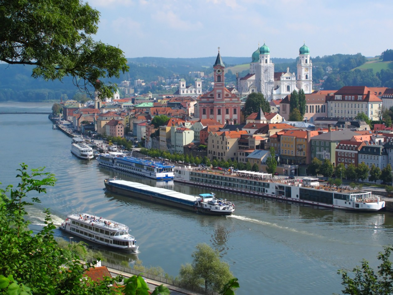 Passau, la ville aux 3 rivieres (allemagne)