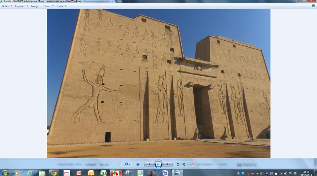 Edfou-Egypte