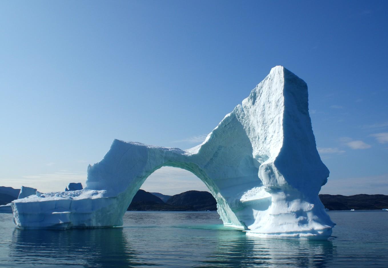 Merveilleux iceberg !