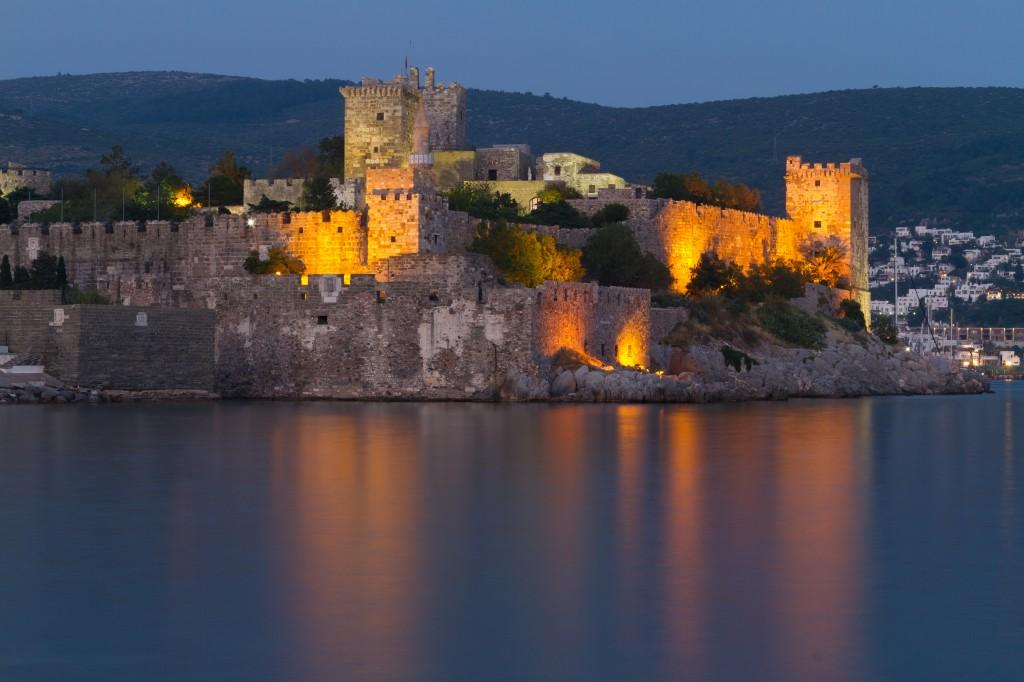 Le château de Bodrum ( Turquie)