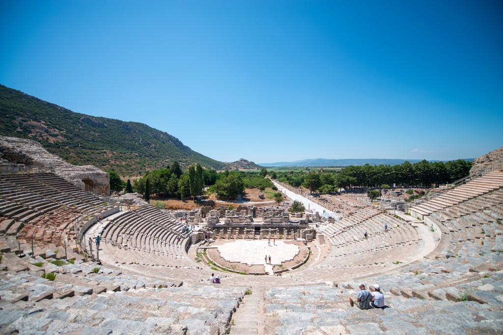 Le Théâtre d'Éphèse, Kusadasi  ( Turquie)