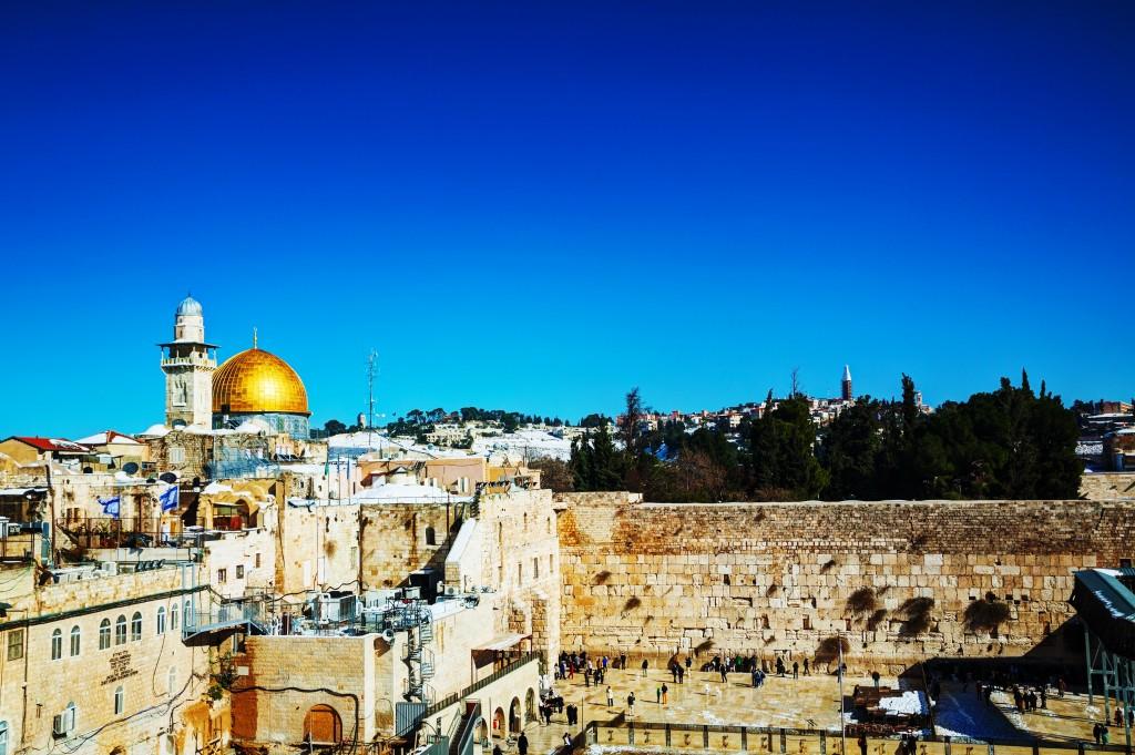 Le mur des lamentations, Jerusalem