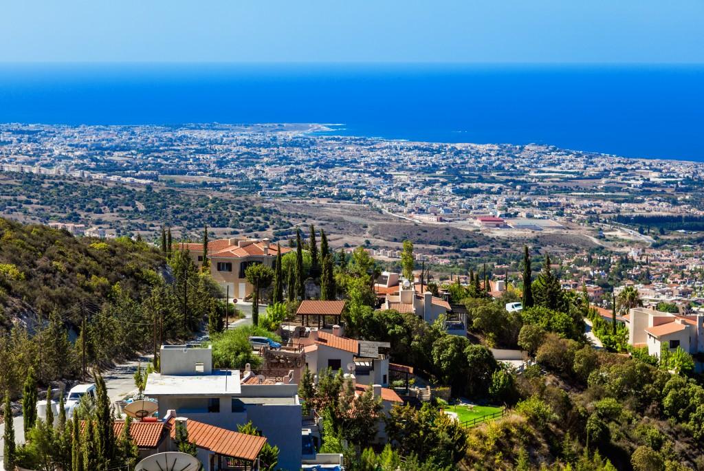 Vue prenante sur la ville de Limassol ( Chypre)