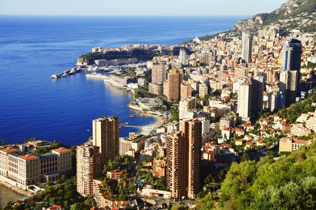 Vue sur la Principauté de Monaco