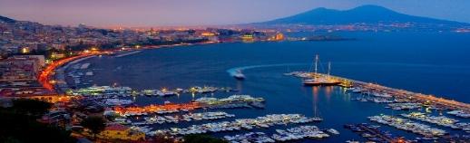 Vue sur la ville de Naples