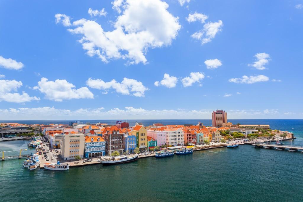 Willemstadt la capitale de Curaçao