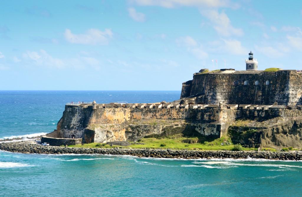 Le fort El Morro a San Juan construit au 16eme siecle par les Espagnols