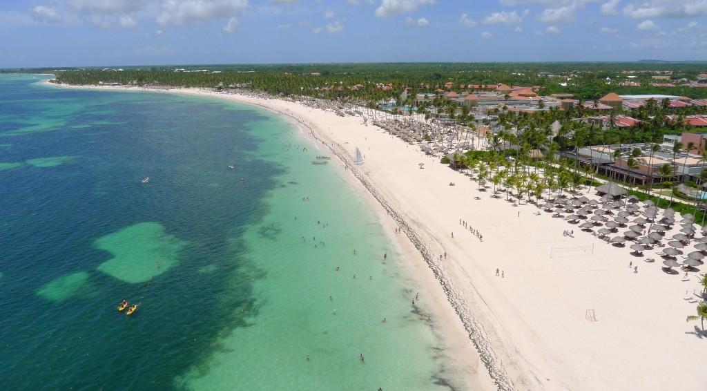Les plages de Punta Cana, République Dominicaine