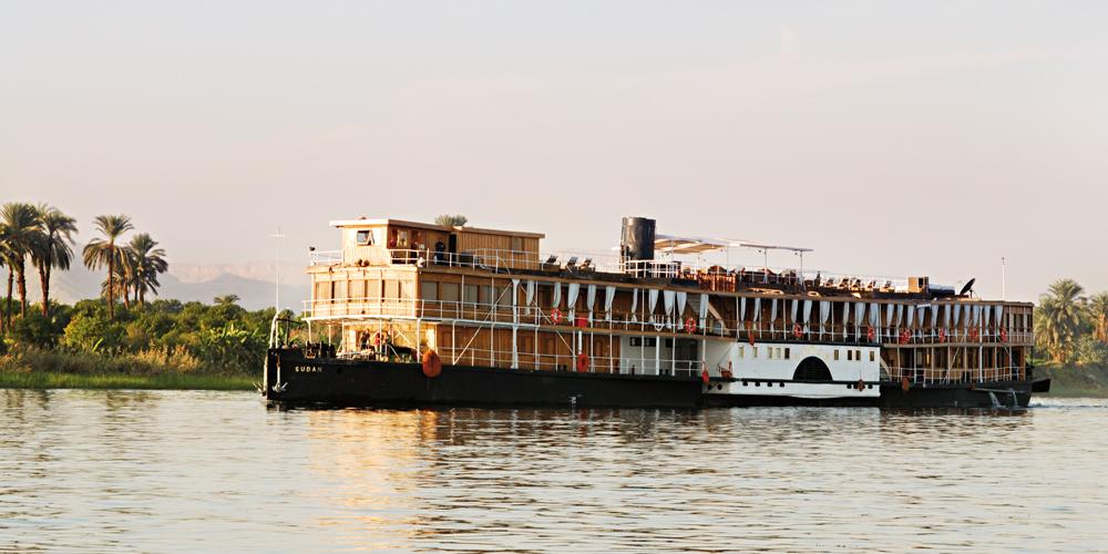 Steam ship Sudan & croisieres sur le Nil